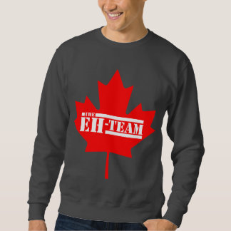 Eh Team Canada Maple Leaf Pull Over Sweatshirt