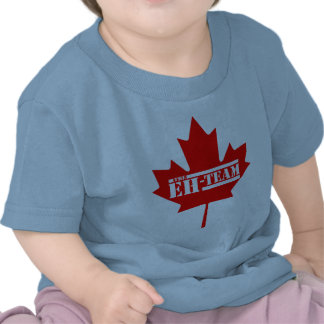 Eh Team Canada Maple Leaf Tee Shirt