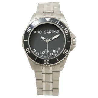 eh who cares? wristwatches