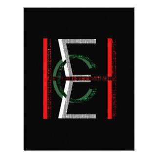 EHC Matrix Chaotic Symbol Letterhead