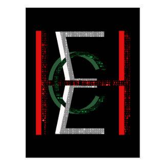 EHC Matrix Chaotic Symbol Postcard