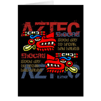 Ehecatl - Aztec Gifts & Greetings Card