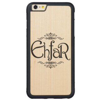EHFAR - Everything Happens For A Reason Carved Maple iPhone 6 Plus Bumper Case