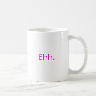 Ehh. orange pink red coffee mug