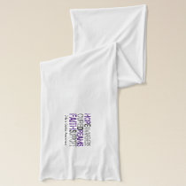 Ehlers Danlos Awareness Encouragement Scarf