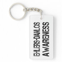 Ehlers Danlos Awareness Keychains