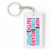 Ehlers Danlos Awareness Monogrammed Keychains