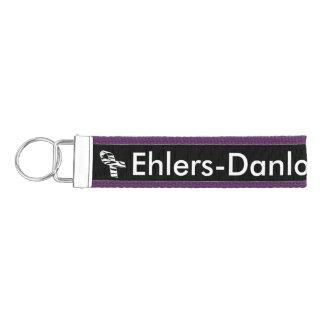 Ehlers Danlos Awareness Wrist Key Chain