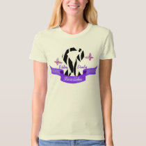 Ehlers-Danlos EDS I'm a Zebra Awareness Ribbon T-Shirt