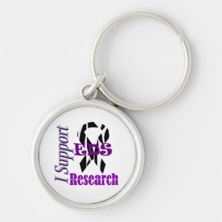 Ehlers Danlos EDS Research Supporter Keychain