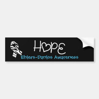 Ehlers Danlos Hope Awareness Bumper Stickers