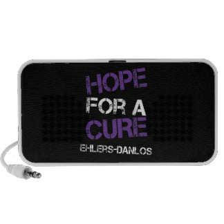 Ehlers Danlos Hope for a Cure Doodle Speakers