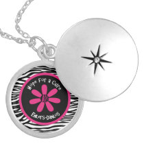 Ehlers-Danlos Hope for a Cure Flower Necklace