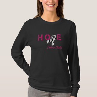 Ehlers-Danlos Hope Zebra Stripe Ribbon Shirt