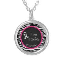 Ehlers-Danlos I Am a Zebra Necklace