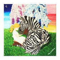 Ehlers Danlos Syndrome Awareness Art Canvas Print