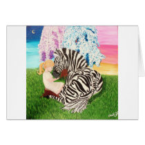 Ehlers Danlos Syndrome Awareness Art Card