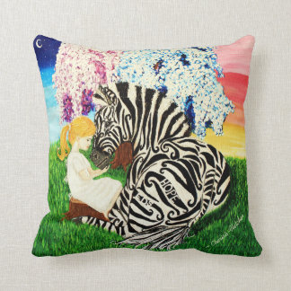 Ehlers Danlos Syndrome Awareness Art Throw Pillow
