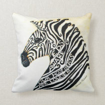Ehlers Danlos Syndrome Awareness Art Throw Pillow