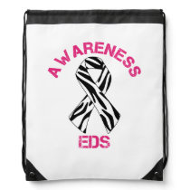 Ehlers Danlos Syndrome Awareness Cinch Bag
