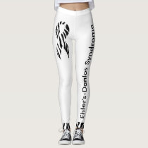 Ehler's-Danlos Syndrome Awareness Leggings