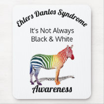Ehlers Danlos Syndrome Awareness Mouse Pad