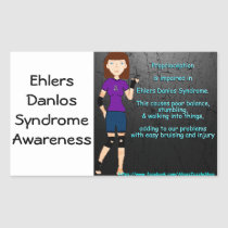 Ehlers Danlos Syndrome awareness page sticker