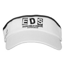 Ehlers Danlos Syndrome Awareness Sport Sun Visor