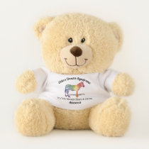 Ehlers Danlos Syndrome Awareness Teddy Bear