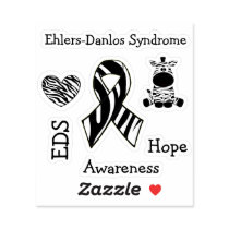 Ehlers-Danlos Syndrome EDS Awareness Hope Sticker