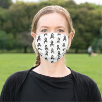 Ehlers-Danlos Syndrome EDS Awareness Ribbons Cloth Face Mask