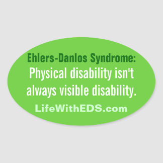 Ehlers-Danlos Syndrome (EDS) Sticker