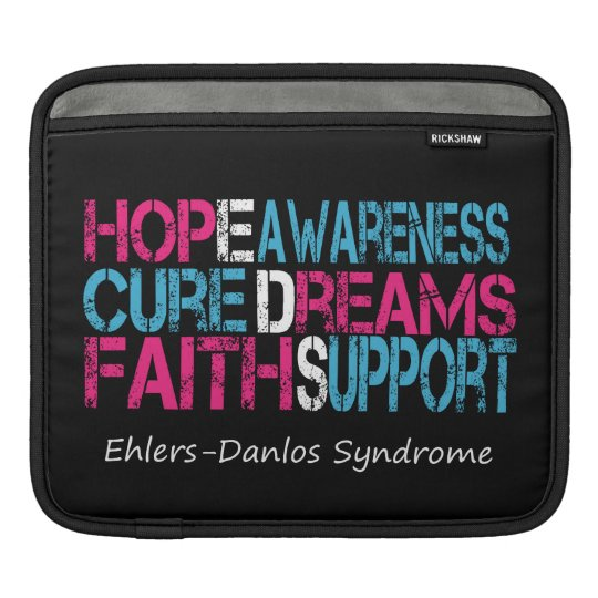 Ehlers-Danlos Syndrome Hope Awareness iPad Sleeve