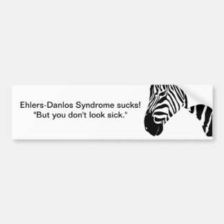 Ehlers-Danlos Syndrome sucks! Bumper Stickers