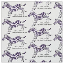 Ehlers-Danlos Syndrome Zebra Strong Fabric