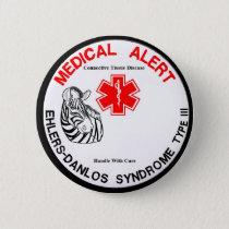 Ehlers Danlos Type 3 Medical Alert Button