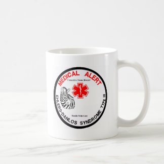 Ehlers Danlos Type 3 Medical Alert Classic White Coffee Mug