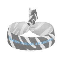 Ehlers Danlos Zebra Print Hair Tie