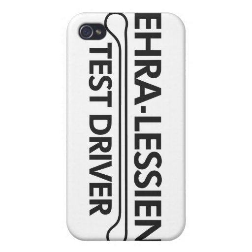 Ehra-Lessien Test Driver Case For iPhone 4