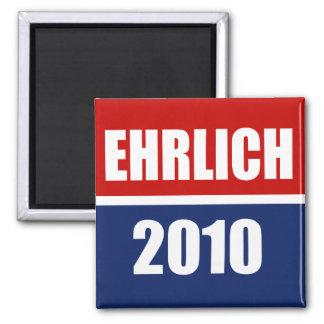 EHRLICH 2010 FRIDGE MAGNET