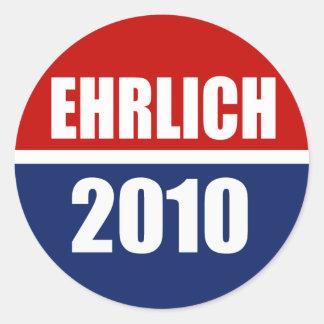 EHRLICH 2010 STICKERS