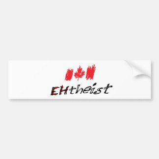 EHTheist (Atheist) Car Bumper Sticker