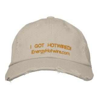 EHW distressed Hotwired hat