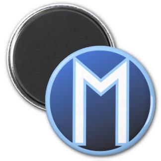 Ehwaz Rune 2 Inch Round Magnet