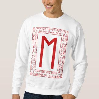 Ehwaz Rune Pullover Sweatshirt