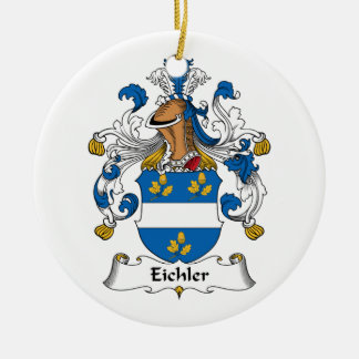 Eichler Family Crest Christmas Tree Ornaments