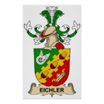 Eichler Family Crest Poster