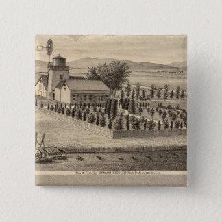 Eichler, Meyer residences Pinback Button
