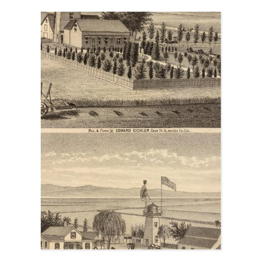 Eichler, Meyer residences Postcard