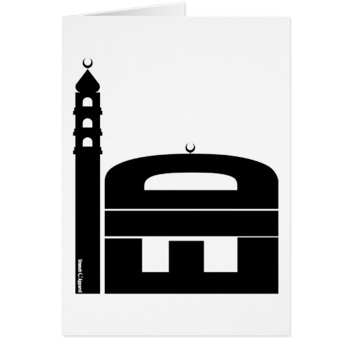 Eid Card Mosque Design